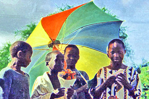 Kenyaumbrellachildren