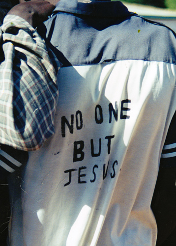 No one but Jesus