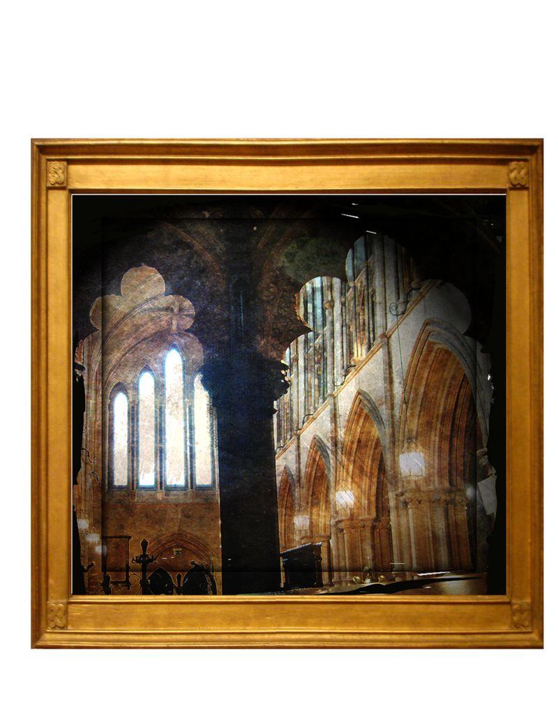 Framed windowinside