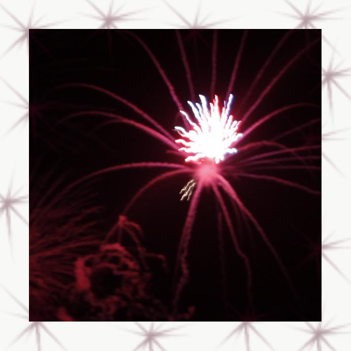 Spider fireworks