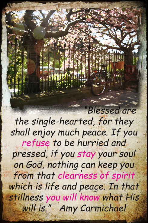 Clearness of spirit