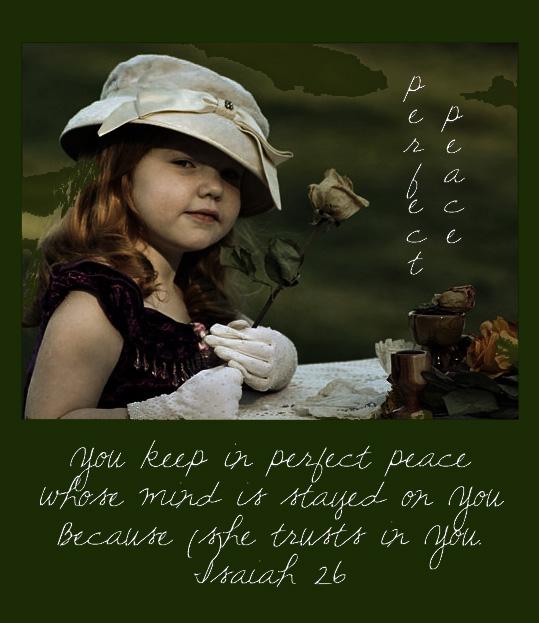 Perfect peace khloe