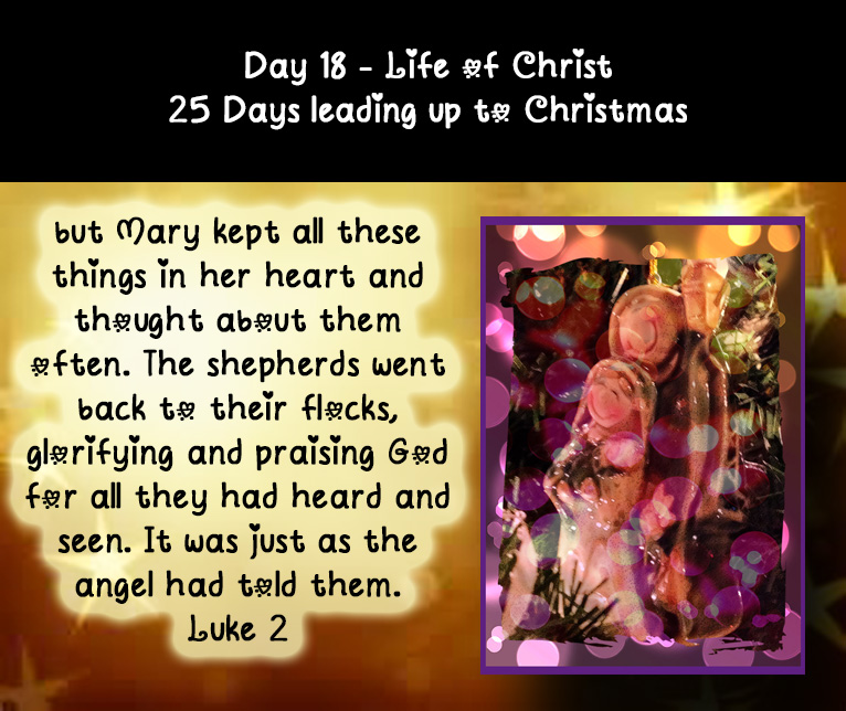 Day 18 life of Christ