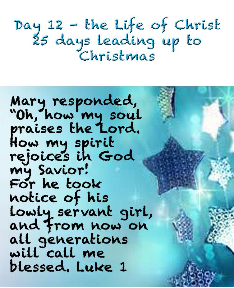 Day 12 days of Christ