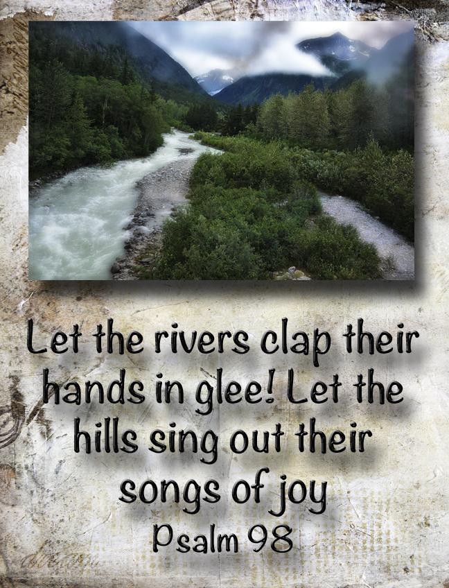 Clap hills rivers